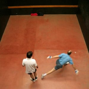 Rugby Fives in action